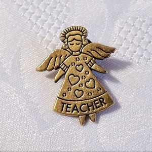 Vintage Teacher Pin